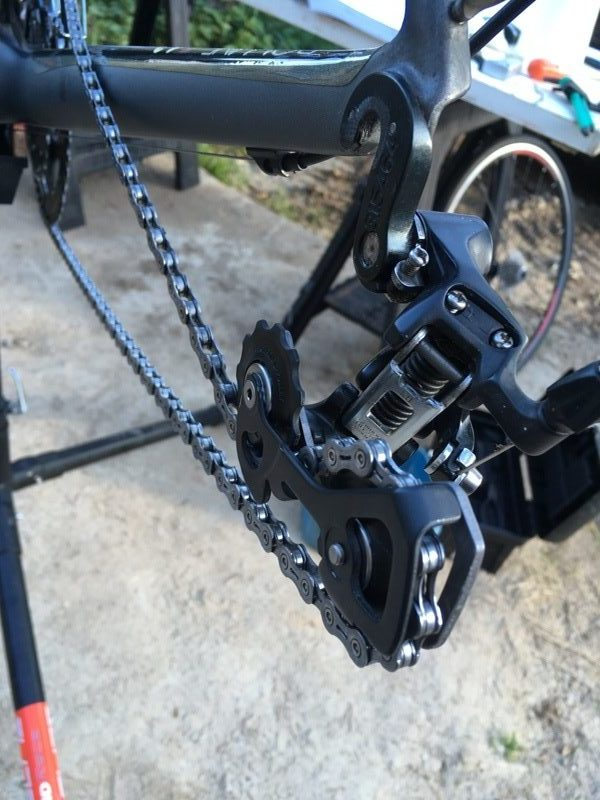 Clean rear derailleur 3