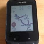 Edge 510 map screen