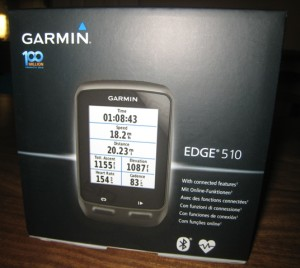 Garmin Edge 510 box