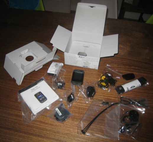 Garmin Edge 510 what is in the box
