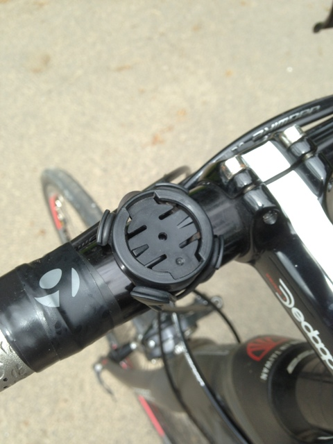 Garmin Edge handlebar bracket
