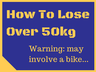 How to lose 50kg by cycling