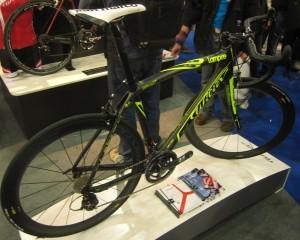 Maybe the 2012 team bike - pretty sure Lampre now ride Merida bikes...
