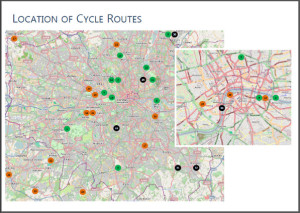 London routes map