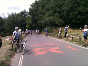 RideLondon Box Hill Top