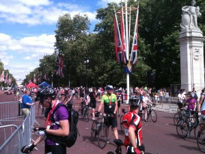 RideLondon The Mall Finish