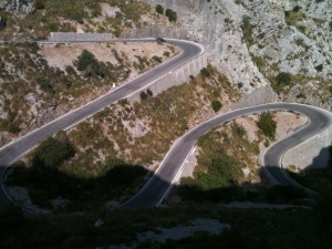 Sa Calobra Switchbacks...