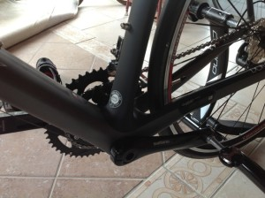 Trek Domane bottom bracket Duotrap