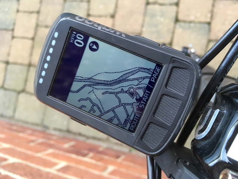 Wahoo ELEMNT BOLT detailed map
