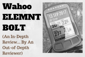 Wahoo ELEMNT BOLT: An In-Depth Review (By A Reviewer That's Out Of His Depth) thumbnail
