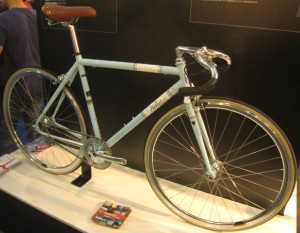 Steel framed bike
