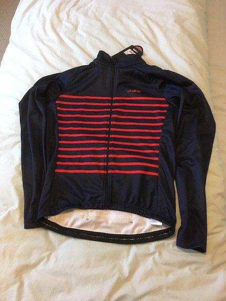 dhb thermal jersey classic breton