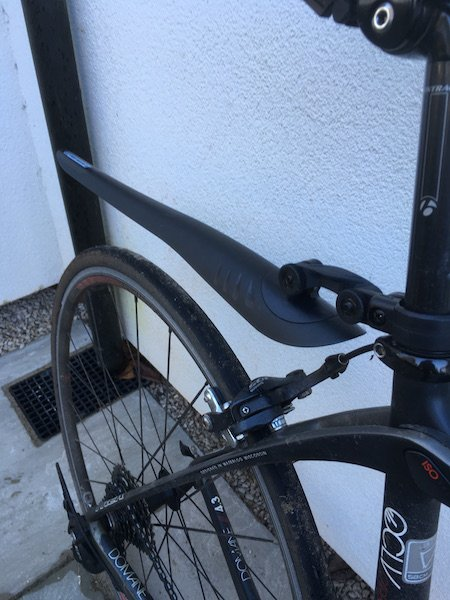 fitted mudguard