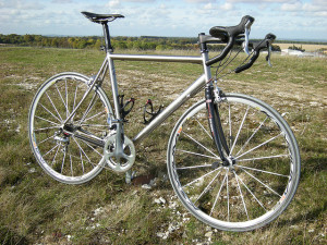 Great Titanium Road Bike